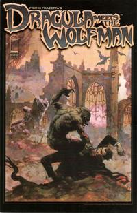 Cover Thumbnail for Frank Frazetta's Dracula Meets the Wolfman (Image, 2008 series)  [Cover A]