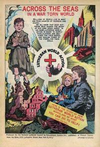 Cover Thumbnail for Across the Seas in a War Torn World (EC, 1948 series)