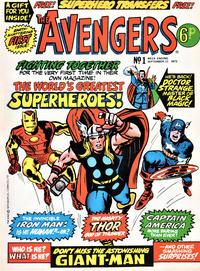 Cover Thumbnail for The Avengers (Marvel UK, 1973 series) #1