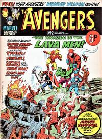 Cover Thumbnail for The Avengers (Marvel UK, 1973 series) #2