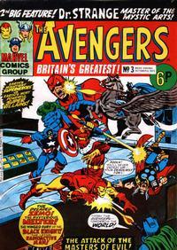 Cover Thumbnail for The Avengers (Marvel UK, 1973 series) #3