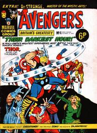 Cover Thumbnail for The Avengers (Marvel UK, 1973 series) #4
