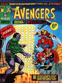Cover Thumbnail for The Avengers (Marvel UK, 1973 series) #5