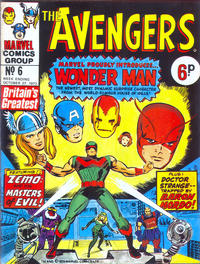 Cover Thumbnail for The Avengers (Marvel UK, 1973 series) #6