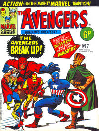 Cover Thumbnail for The Avengers (Marvel UK, 1973 series) #7