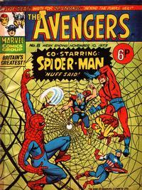 Cover Thumbnail for The Avengers (Marvel UK, 1973 series) #8