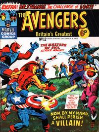 Cover for The Avengers (Marvel UK, 1973 series) #12