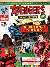Cover Thumbnail for The Avengers (Marvel UK, 1973 series) #17