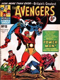 Cover Thumbnail for The Avengers (Marvel UK, 1973 series) #18