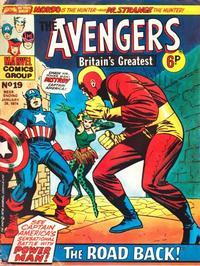 Cover Thumbnail for The Avengers (Marvel UK, 1973 series) #19