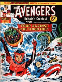 Cover for The Avengers (Marvel UK, 1973 series) #24
