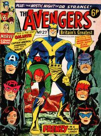 Cover Thumbnail for The Avengers (Marvel UK, 1973 series) #27
