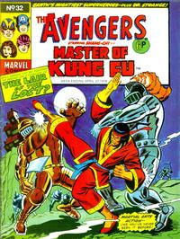 Cover Thumbnail for The Avengers (Marvel UK, 1973 series) #32