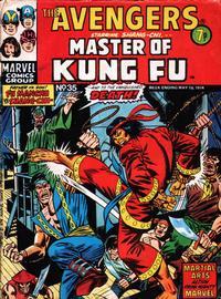Cover Thumbnail for The Avengers (Marvel UK, 1973 series) #35