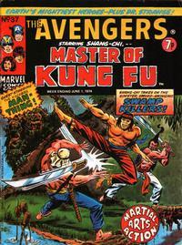 Cover Thumbnail for The Avengers (Marvel UK, 1973 series) #37