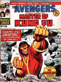 Cover Thumbnail for The Avengers (Marvel UK, 1973 series) #38