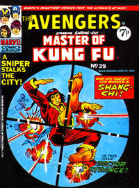Cover Thumbnail for The Avengers (Marvel UK, 1973 series) #39