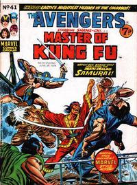 Cover Thumbnail for The Avengers (Marvel UK, 1973 series) #41
