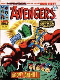 Cover Thumbnail for The Avengers (Marvel UK, 1973 series) #59