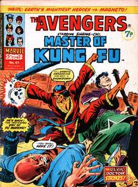 Cover Thumbnail for The Avengers (Marvel UK, 1973 series) #61