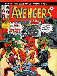 Cover Thumbnail for The Avengers (Marvel UK, 1973 series) #74