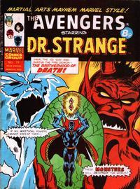 Cover Thumbnail for The Avengers (Marvel UK, 1973 series) #77