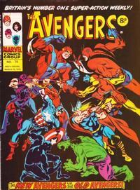 Cover Thumbnail for The Avengers (Marvel UK, 1973 series) #78