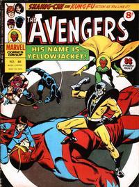 Cover Thumbnail for The Avengers (Marvel UK, 1973 series) #86