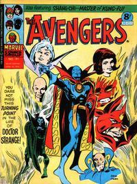 Cover Thumbnail for The Avengers (Marvel UK, 1973 series) #91