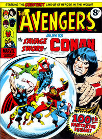 Cover Thumbnail for The Avengers (Marvel UK, 1973 series) #100