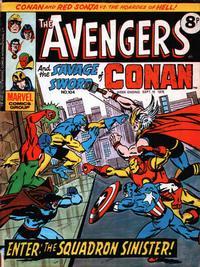 Cover Thumbnail for The Avengers (Marvel UK, 1973 series) #104