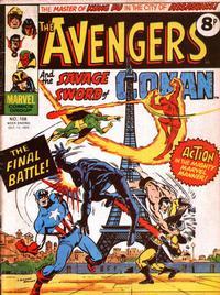 Cover Thumbnail for The Avengers (Marvel UK, 1973 series) #108