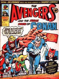 Cover Thumbnail for The Avengers (Marvel UK, 1973 series) #114