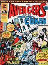 Cover Thumbnail for The Avengers (Marvel UK, 1973 series) #119
