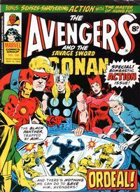 Cover Thumbnail for The Avengers (Marvel UK, 1973 series) #139