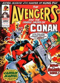Cover Thumbnail for The Avengers (Marvel UK, 1973 series) #140