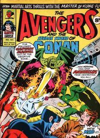 Cover Thumbnail for The Avengers (Marvel UK, 1973 series) #141