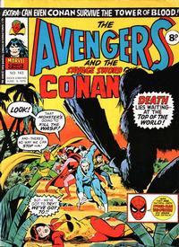 Cover Thumbnail for The Avengers (Marvel UK, 1973 series) #143