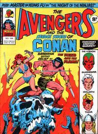 Cover Thumbnail for The Avengers (Marvel UK, 1973 series) #144