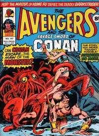 Cover Thumbnail for The Avengers (Marvel UK, 1973 series) #147
