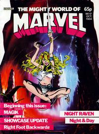 Cover Thumbnail for The Mighty World of Marvel (Marvel UK, 1982 series) #17