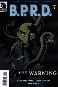 Cover Thumbnail for B.P.R.D.: The Warning (Dark Horse, 2008 series) #2