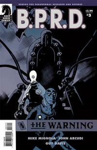 Cover Thumbnail for B.P.R.D.: The Warning (Dark Horse, 2008 series) #3