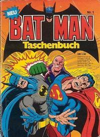 Cover Thumbnail for Batman Taschenbuch (Egmont Ehapa, 1978 series) #1