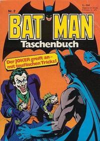 Cover Thumbnail for Batman Taschenbuch (Egmont Ehapa, 1978 series) #2
