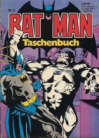 Cover Thumbnail for Batman Taschenbuch (Egmont Ehapa, 1978 series) #5