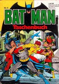 Cover Thumbnail for Batman Taschenbuch (Egmont Ehapa, 1978 series) #6