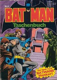 Cover Thumbnail for Batman Taschenbuch (Egmont Ehapa, 1978 series) #8