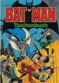 Cover for Batman Taschenbuch (Egmont Ehapa, 1978 series) #11