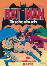Cover Thumbnail for Batman Taschenbuch (Egmont Ehapa, 1978 series) #21
